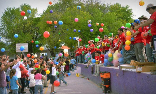 Sábado y domingo a puro Día del Niño en los barrios