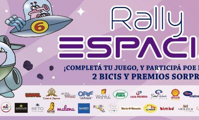 """A participar: se lanzó el """"Rally Espacial"""" para todos los niños en su día."""