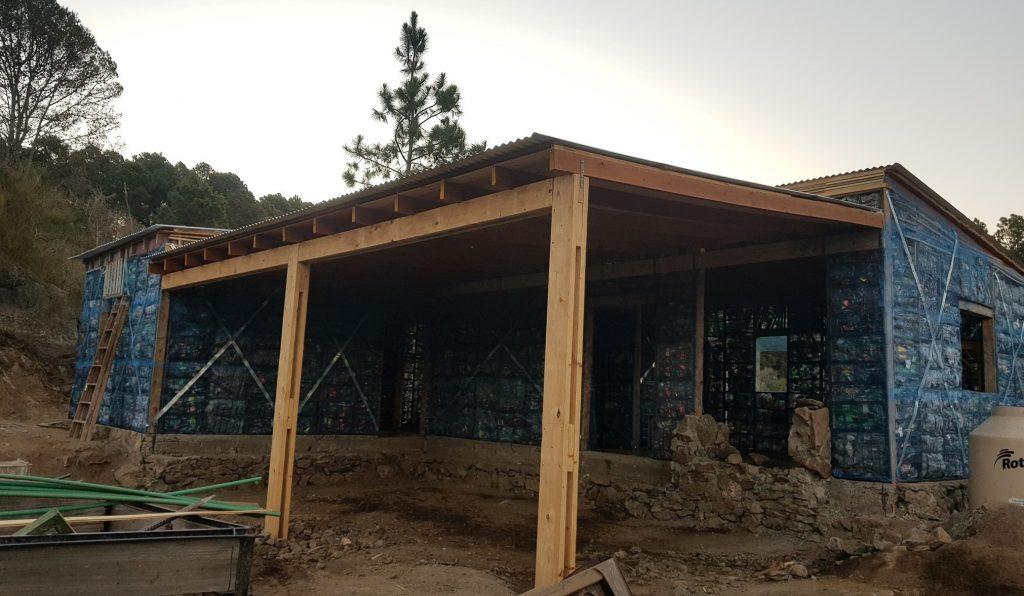 San Clemente: concluyó la construcción de la vivienda ecológica