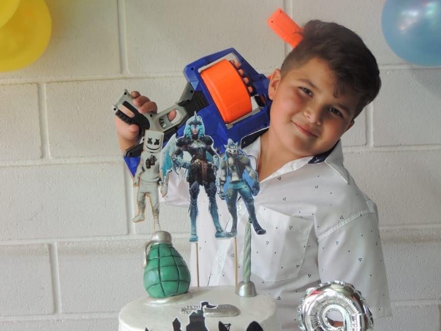 Santi Sánchez, un niño de nuestra ciudad que padece de un cáncer
