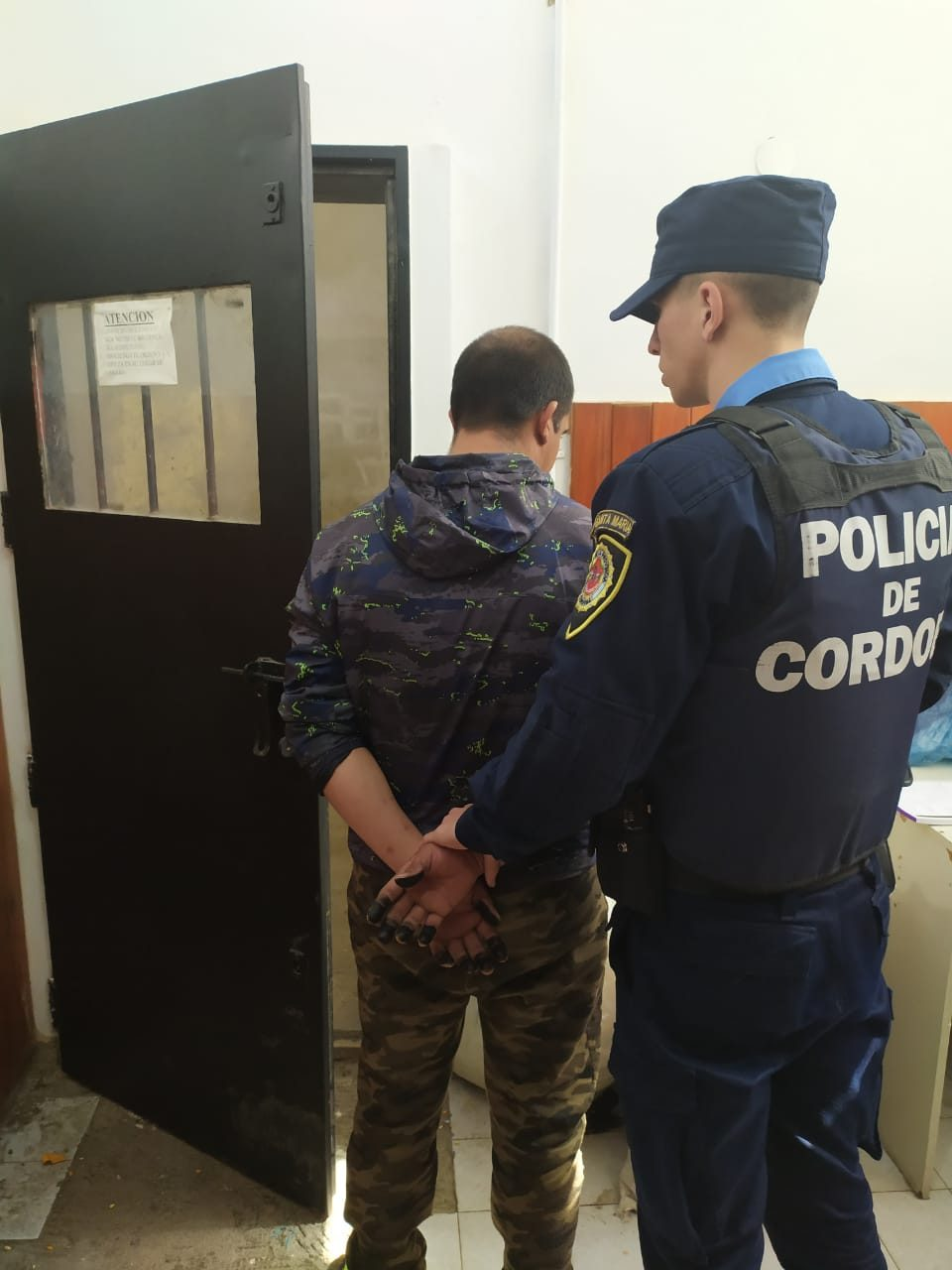 Malagueño: violó una orden de restricción y golpeó a su ex pareja