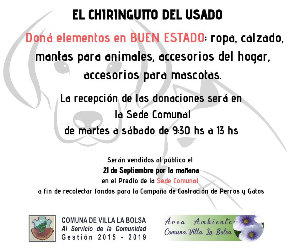 """""""El Chiringuito del usado"""""""