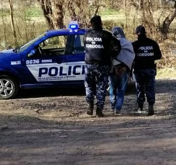 Allanamientos positivos y dos personas detenidas en Anisacate