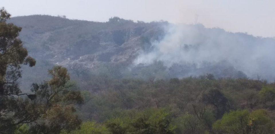 Incendio en Valle Buena Esperanza - Foto de Mi Valle