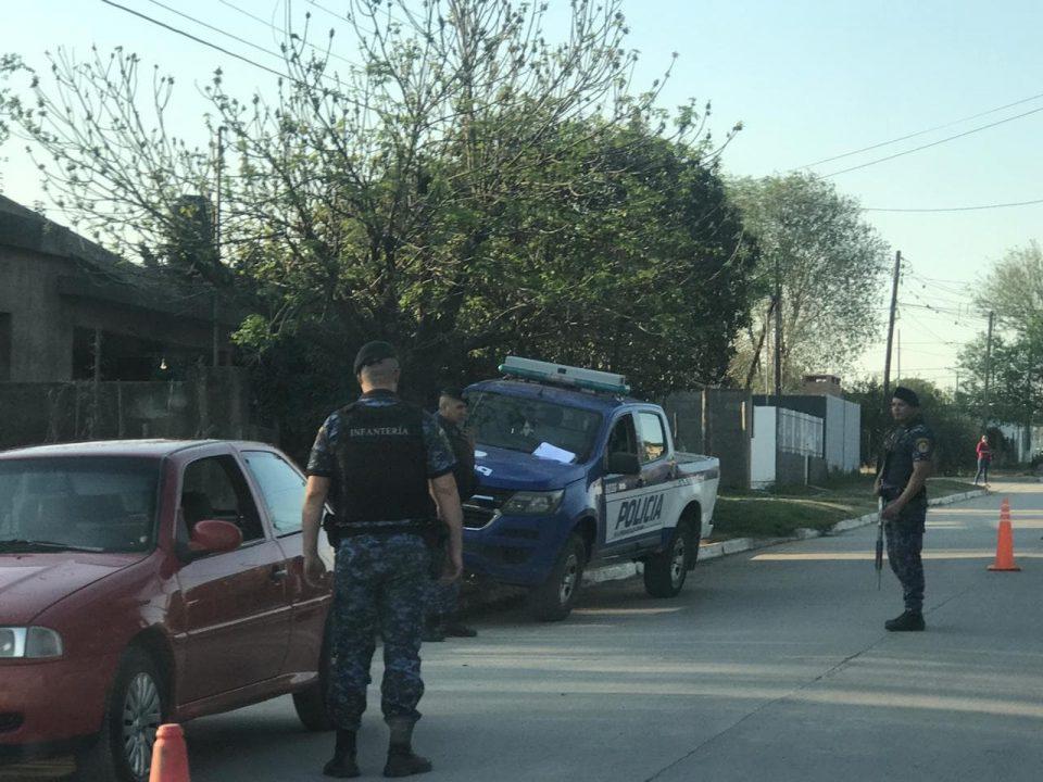 Operativo interfuerzas con secuestro de vehículos y detenido