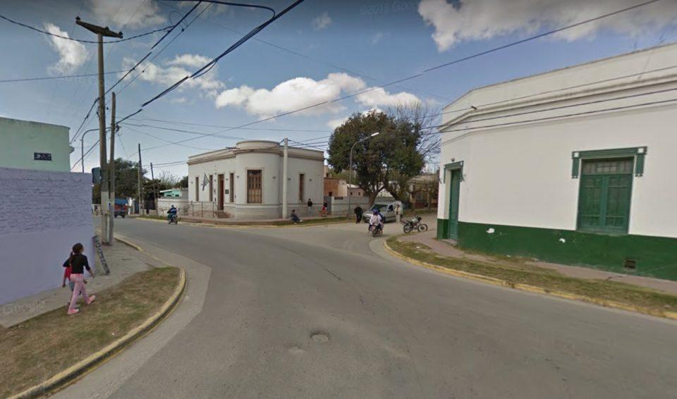 Accidente entre un camión recolector y una motocicleta en Villa Oviedo