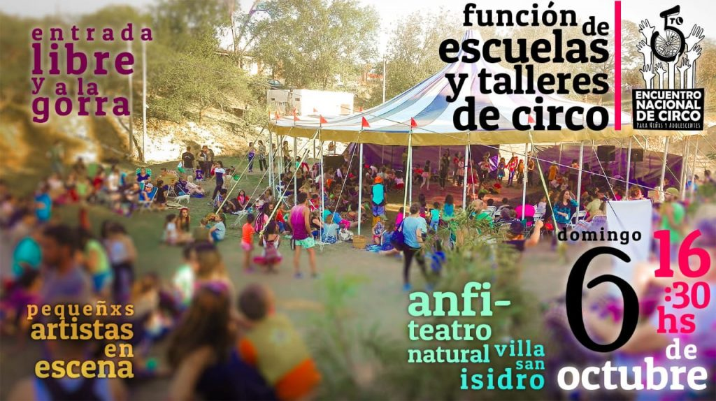 5to Encuentro Nacional de Circo
