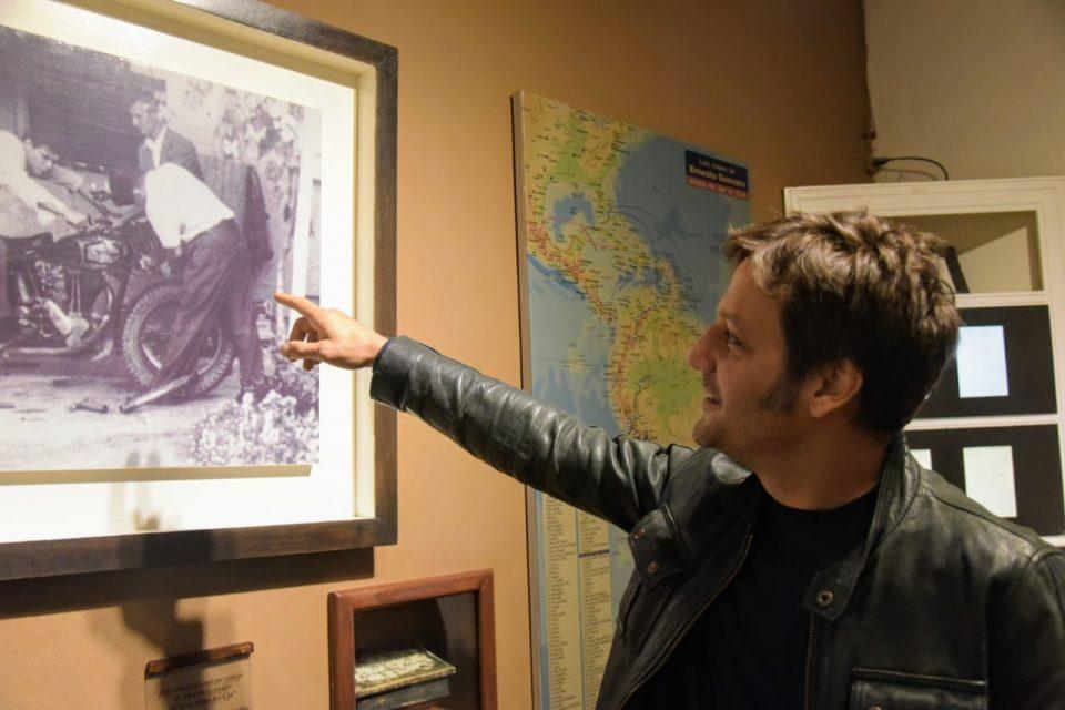 Rodrigo de la Serna visitó el Museo del Che