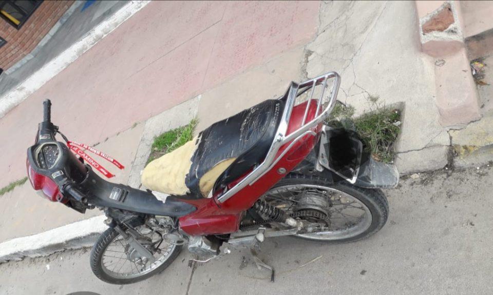 Dos personas lesionadas luego de un accidente de tránsito en Barrio Norte