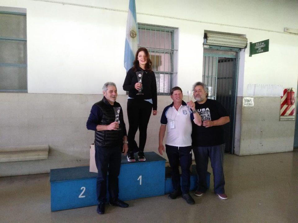 Guadalupe Cravero y Carlos Piérola obtuvieron podio en Buenos Aires