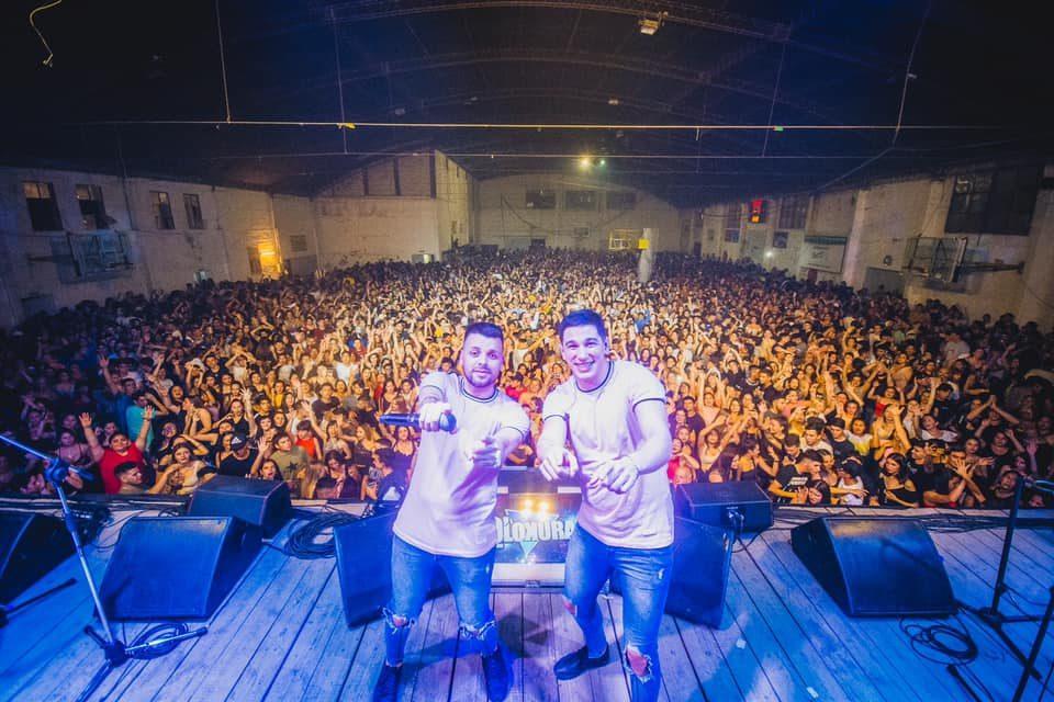 Q' Lokura y un baile a puertas cerradas en el Deportivo Norte