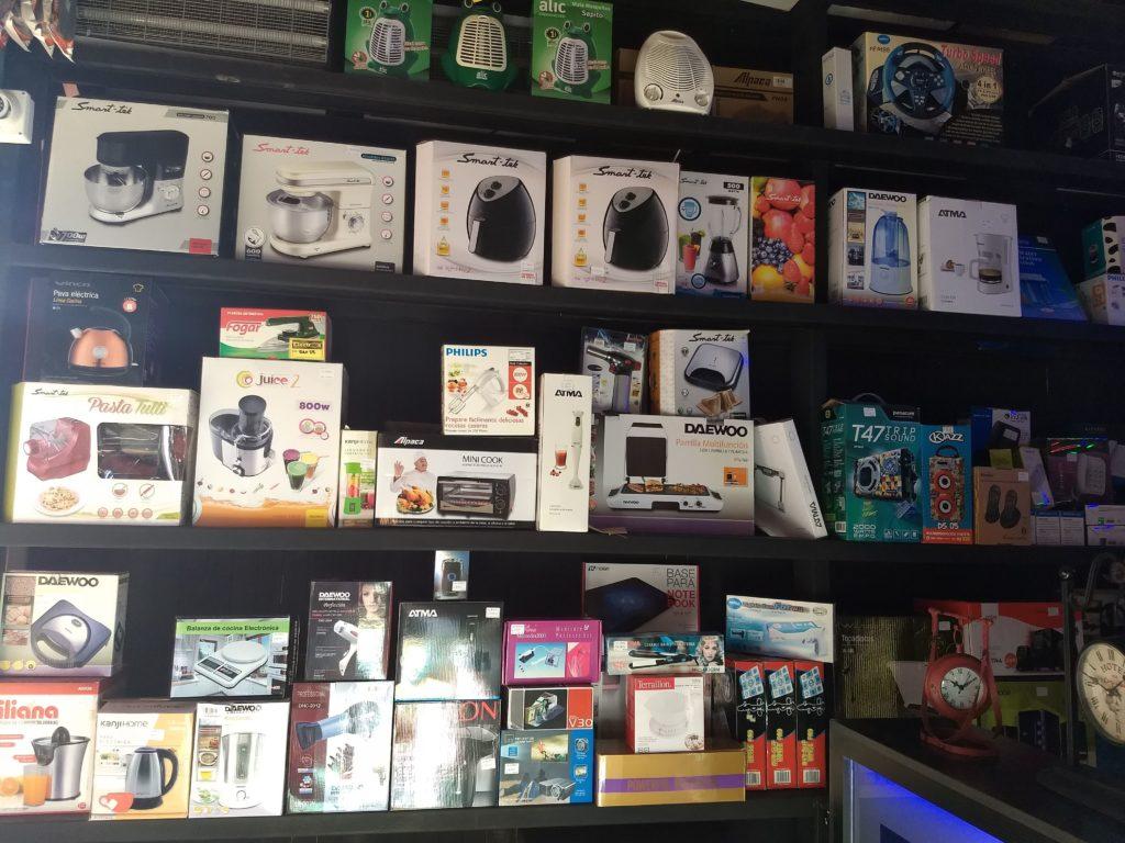 Electrón tiene a la venta una gran variedad de electrodomésticos