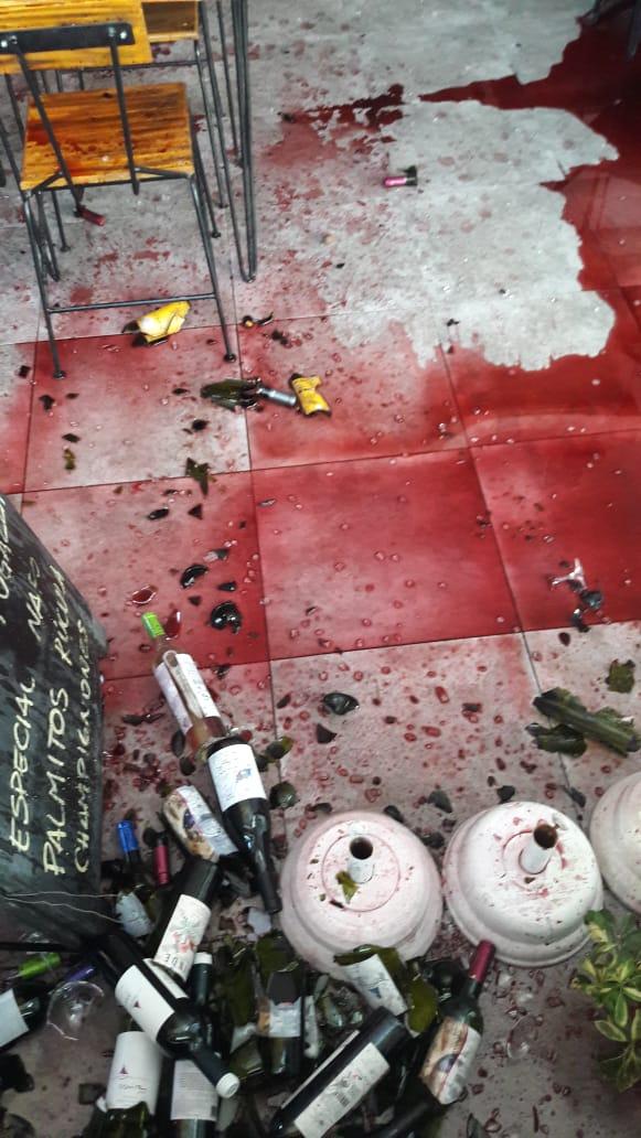 Asalto en una vinoteca de Villa La Bolsa: un detenido y dos prófugos