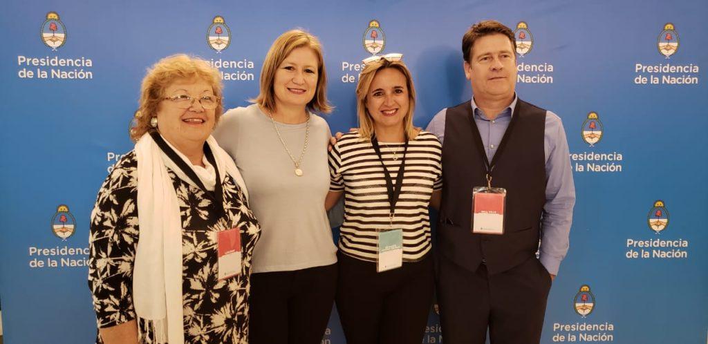 En la ceremonia también fueron premiadas otras autoridades cordobesas como Myriam Prunotto de Juárez Celman, entre otros
