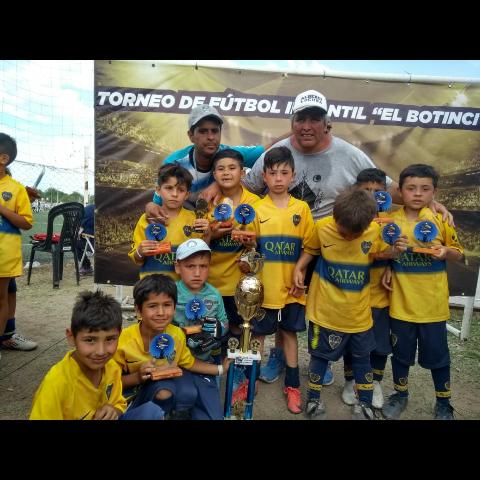 Categoría 2012- Boca Alta Gracia