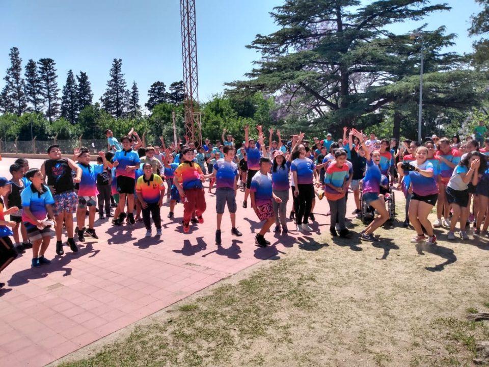 Se llevaron a cabo en el Parque Infantil, ante más de 150 niños de escuelas de nuestra ciudad.