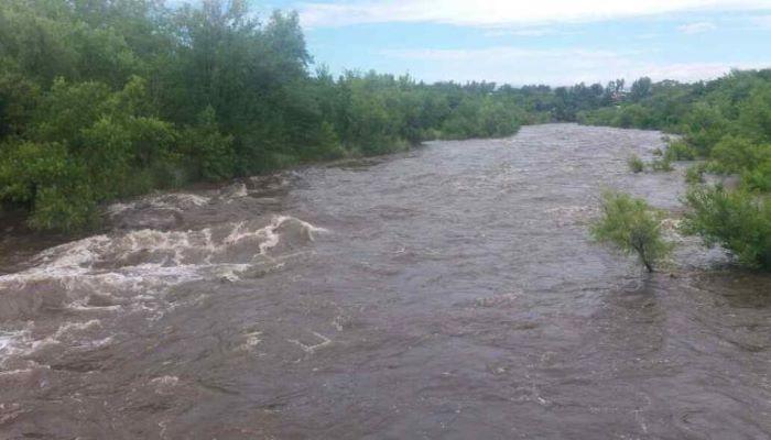 Alta Gracia sin agua debido a las crecientes