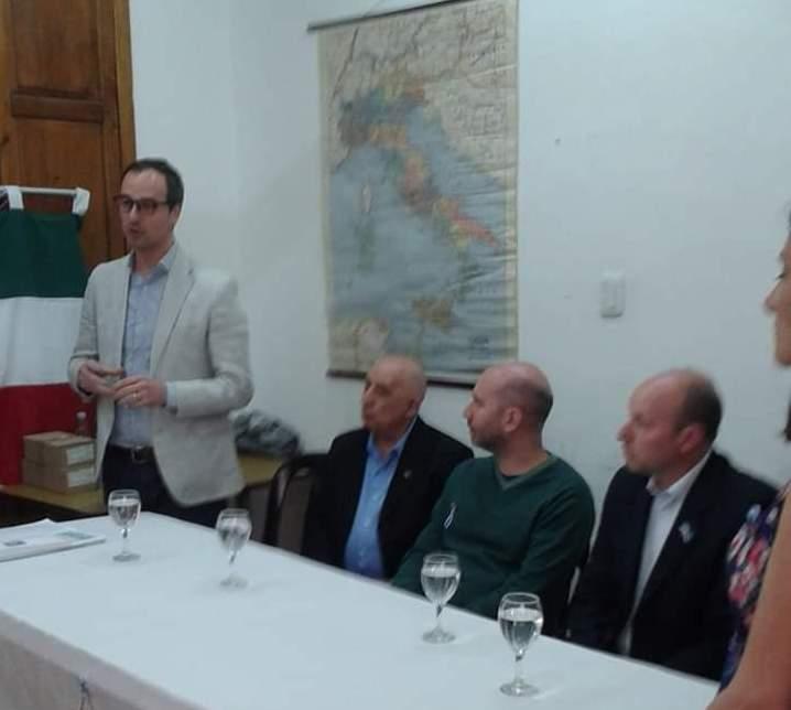 El Diputado italiano Mario Borghese estuvo en Alta Gracia