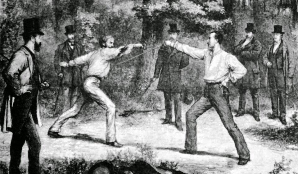 Los duelos por el honor tuvieron un importante y llamativo capítulo en la historia argentina.
