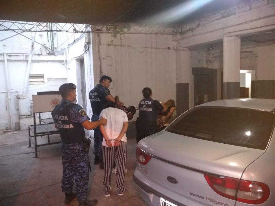Tres mecheros fueron detenidos en inmediaciones del Parque Deportivo