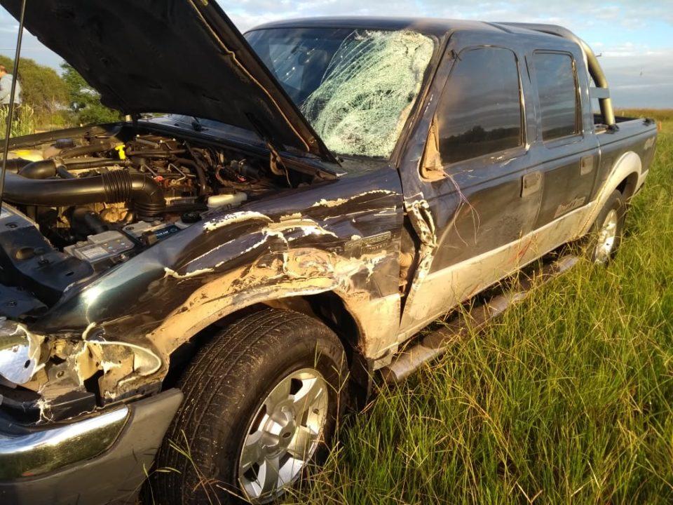 Falleció un motociclista luego de chocar contra una camioneta