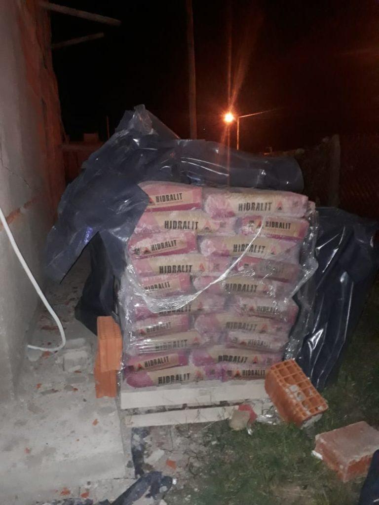 Dos detenidos por robar material de una obra en construcción