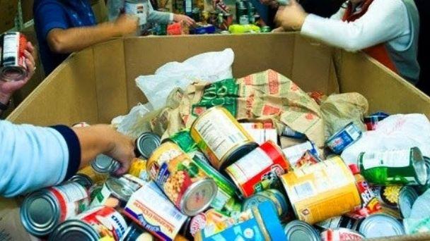 Donaciones para familias de la ciudad