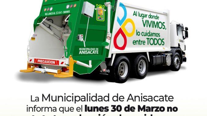 Anisacate: residuos, dispensario y otros servicios
