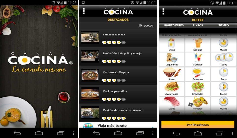 Mirá las 5 apps que podes descargarte para no tener que pensar más en qué cocinar.